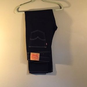New Levi Dark Wash Jeans